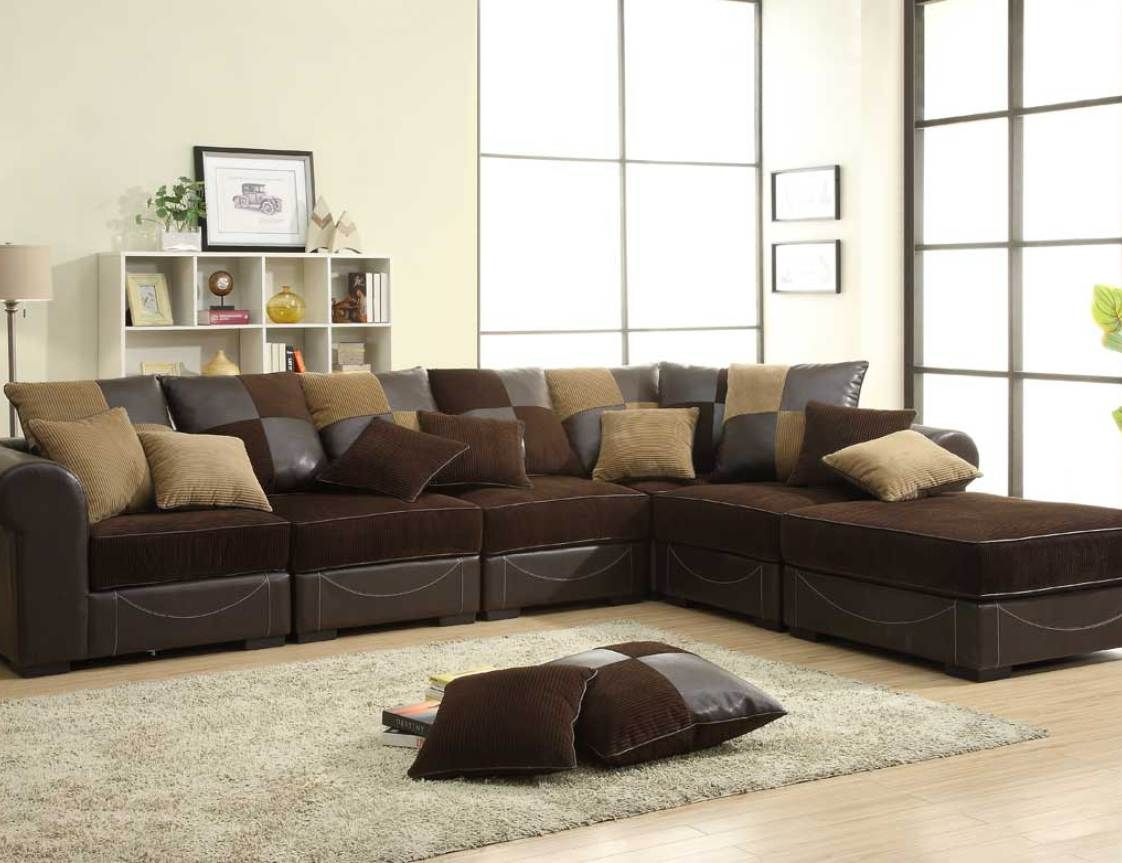 Cozy Sectional Sofas   Sofas For Small Spaces, Brown In Live It Cozy Sectional Sofa Beds With Storage (View 3 of 15)