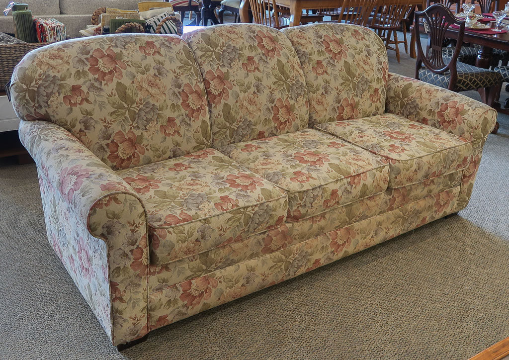 Craftmaster Floral Sofa   New England Home Furniture In Floral Sofas And Chairs (View 3 of 15)