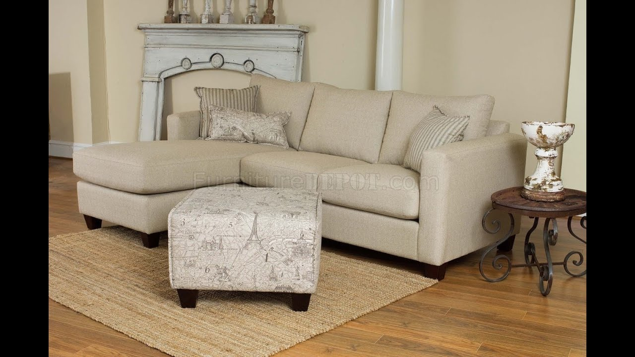 Cream Colored Sectional Sofa – Youtube Pertaining To Cream Colored Sofas (View 5 of 15)
