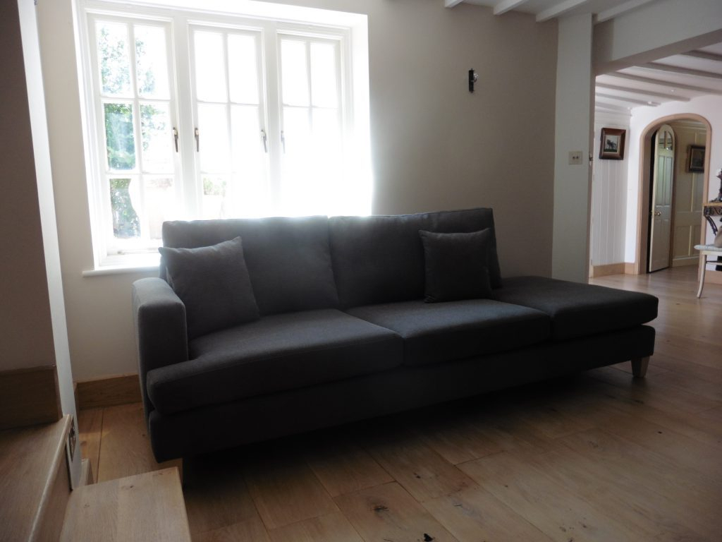 Custom Made Sofa – Hill Upholstery & Design Pertaining To Custom Made Sectional Sofas (View 12 of 15)
