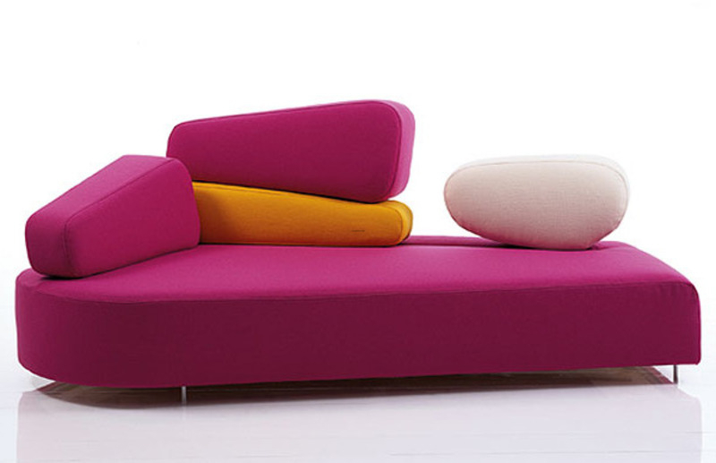 Cute Sofa Furniture Design Ideas / Design Bookmark #12633 Intended For Colorful Sofas And Chairs (View 15 of 15)