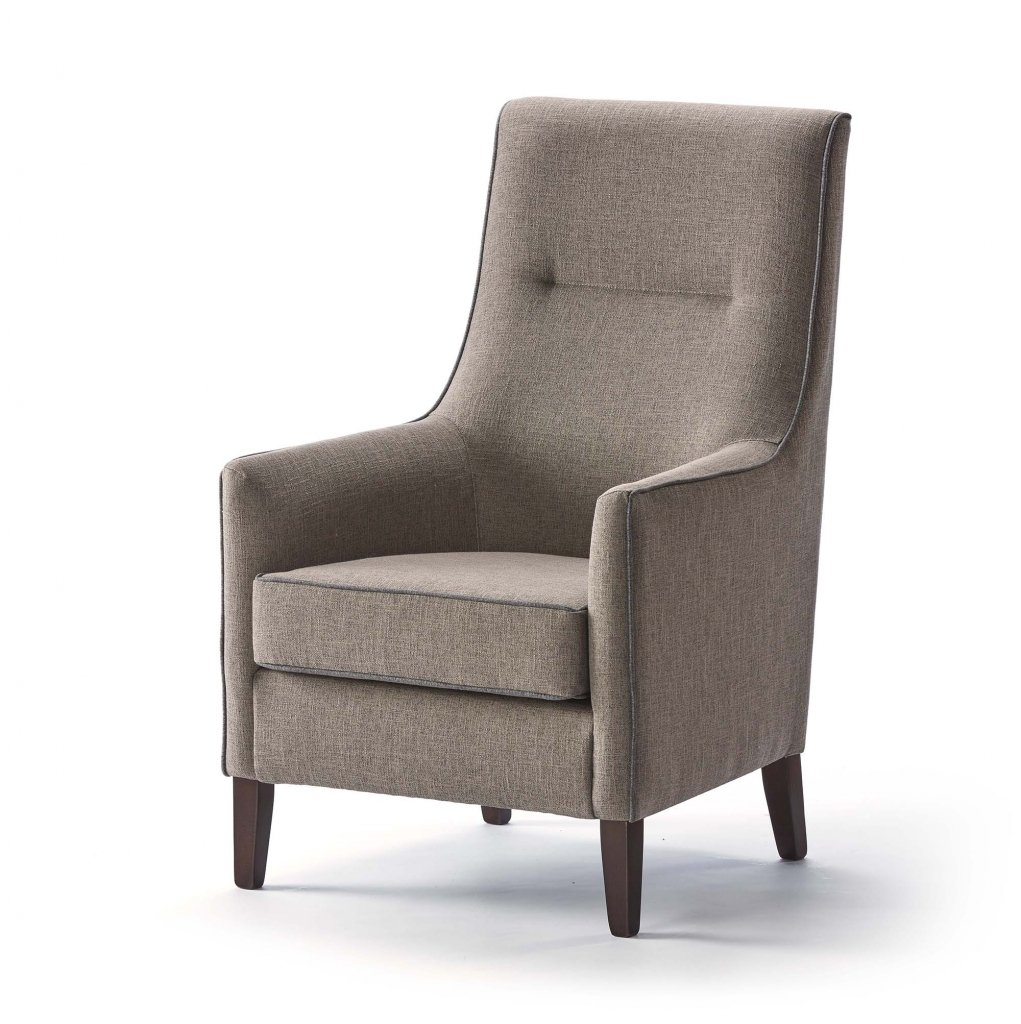 Denia High Back Chair – Shackletons Within High Back Sofas And Chairs (View 9 of 15)