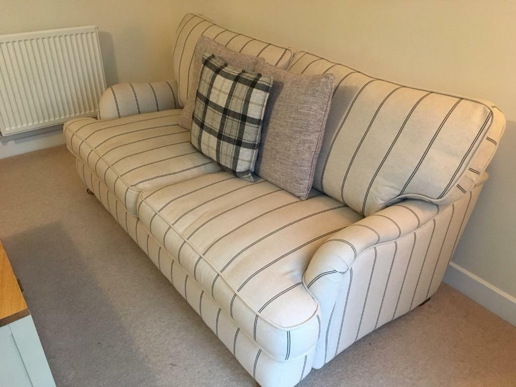 Dfs Large 'Country Living' Gower Stripe Sofa | In Radstock With Regard To Country Sofas And Chairs (View 11 of 15)