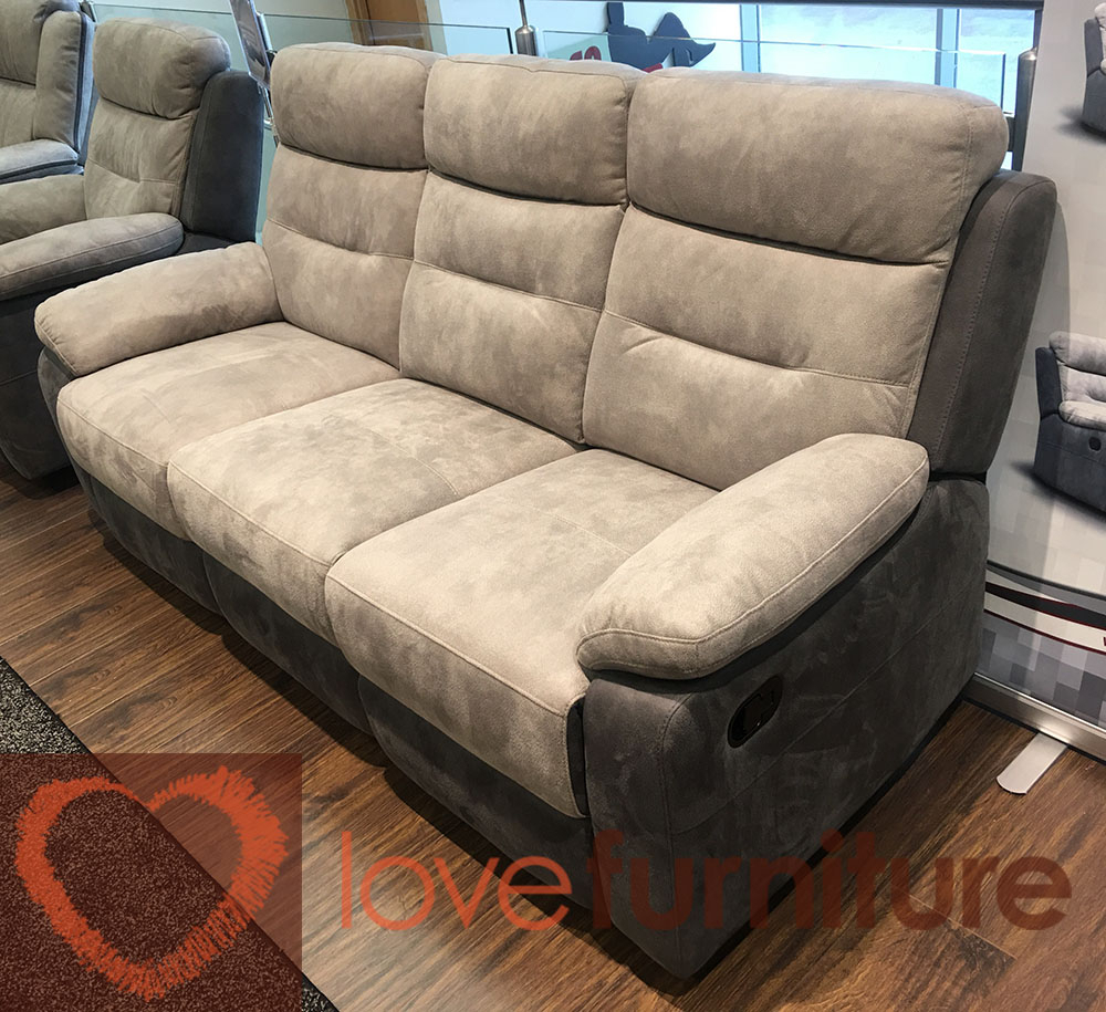 Dillon Fabric 4 Seater Recliner Sofa – 4Rr For Four Seater Sofas (View 11 of 15)
