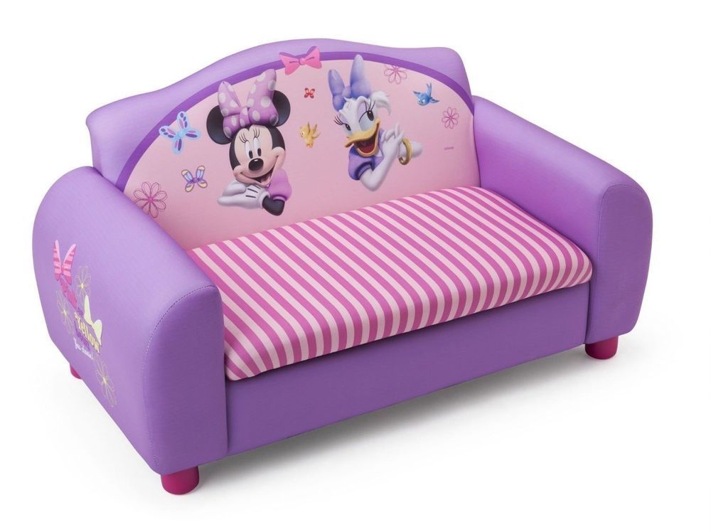 Disney Minnie Mouse Daisy Duck Pink Bedroom Sofa Satee With Regard To Disney Sofa Chairs (View 8 of 15)