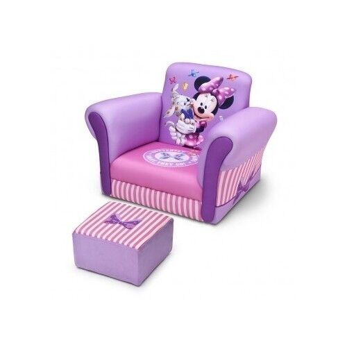 Disney Minnie Mouse Sofa Chair Ottoman Purple Girls Pink Intended For Disney Sofa Chairs (View 14 of 15)