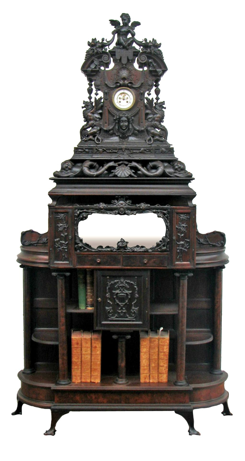 ᴍᴀɪsᴏɴ ɢᴏᴛʜɪǫᴜᴇ   Gothic Furniture, Antiques, Gothic Bookcase In Gothic Sofas (View 6 of 15)