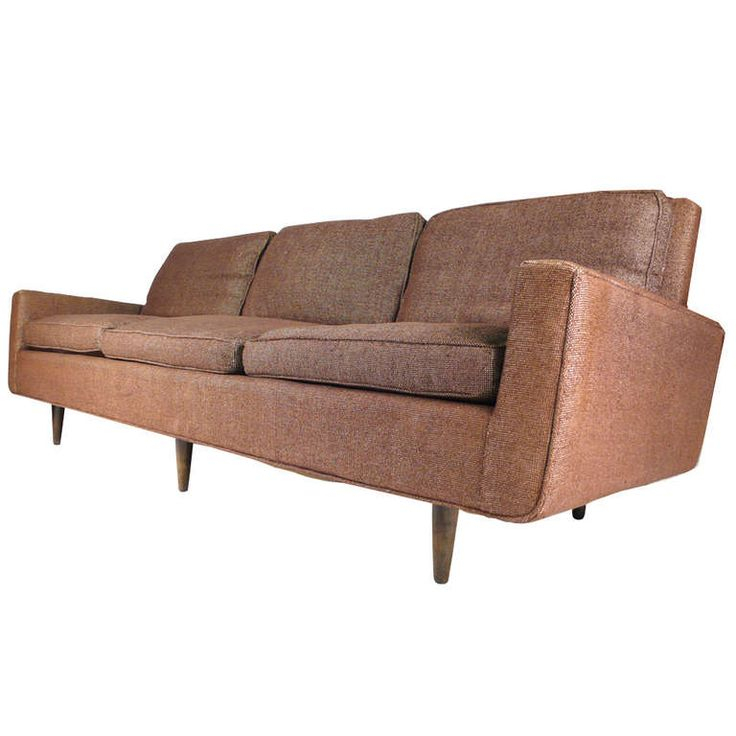 Early Florence Knoll Down Filled Sofa | Florence Knoll In Florence Large Sofas (View 4 of 15)