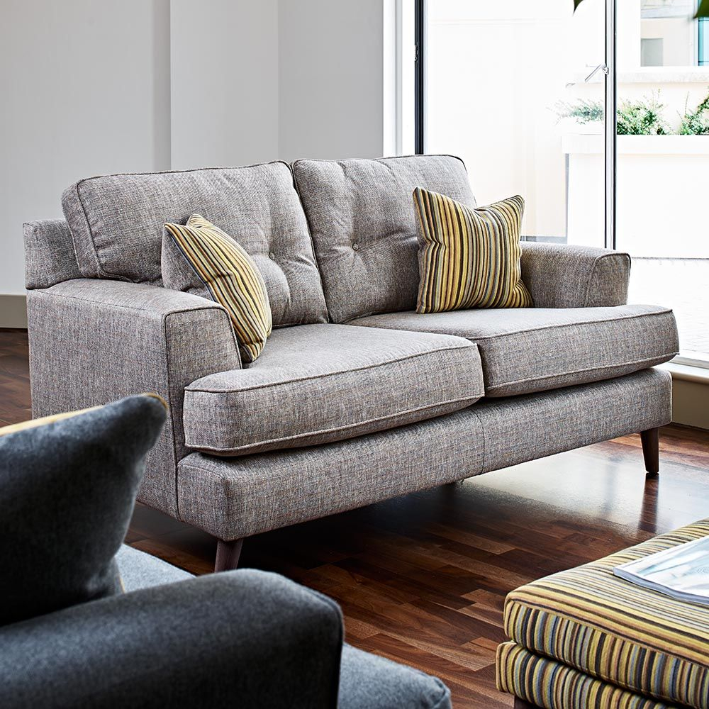 Edgar Small 2 Seater Sofa Within Small 2 Seater Sofas (View 1 of 15)