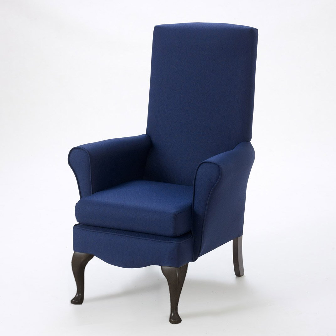 Edinburgh High Back Chair – Shackletons In High Back Sofas And Chairs (View 5 of 15)