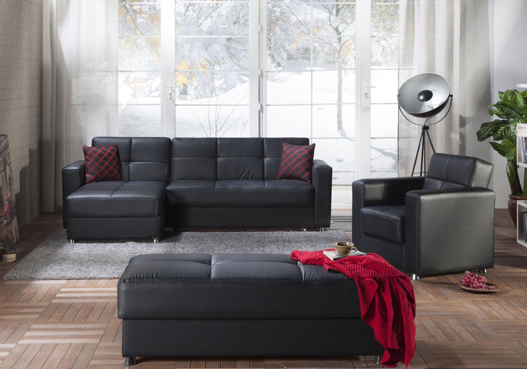 Elegant Black Sectional Sofa Elegant P658D Istikbal Throughout Elegant Sectional Sofas (View 3 of 15)