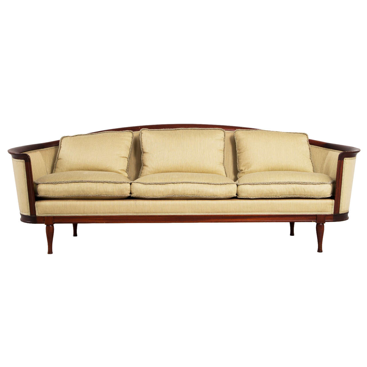 Elegantly Curved Scandinavian Sofa, 1930S At 1Stdibs With 1930S Sofas (Photo 10 of 15)