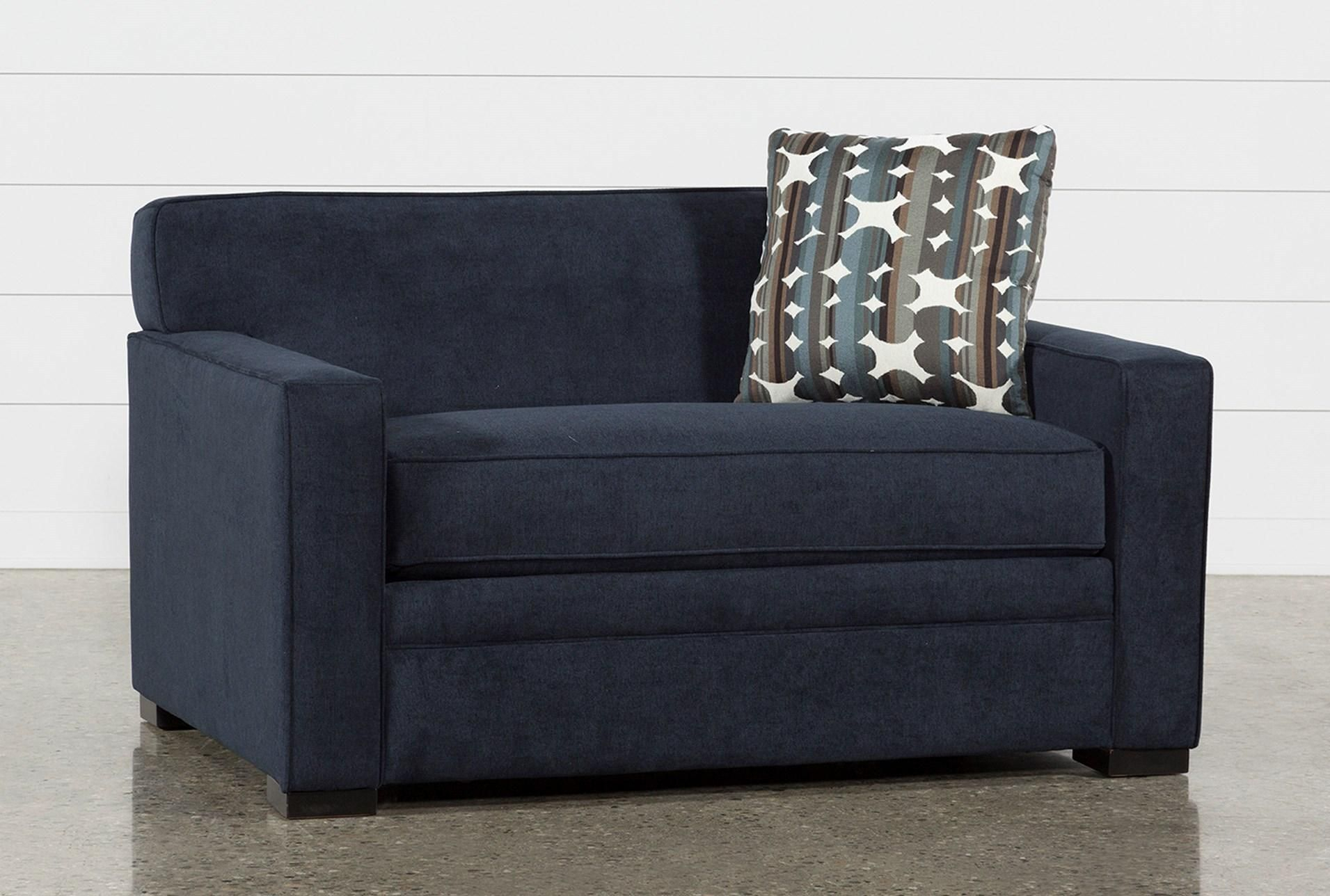 Ethan Ii Pillow Top Twin Sleeper   Loveseat Sofa Bed, Sofa In Twin Nancy Sectional Sofa Beds With Storage (View 14 of 15)