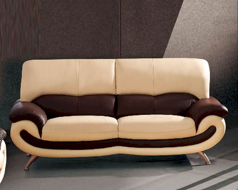 European Furniture Modern Two Tone Sofa 33Ss12 Intended For Contemporary Sofas And Chairs (View 6 of 15)