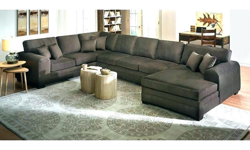 Extra Large Sectional Sofas With Chaise – Lanzhome Throughout Extra Large Sectional Sofas (View 11 of 15)