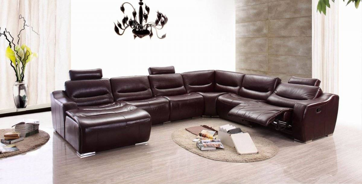 Extra Large Spacious Italian Leather Sectional Sofa In Inside Extra Large Sectional Sofas (View 10 of 15)