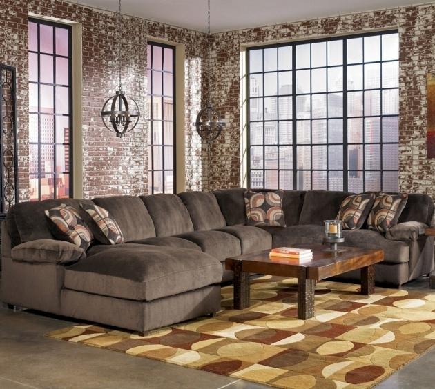 Fantastic Gray Velvet Oversized Extra Large Sectional Regarding Extra Large Sectional Sofas (View 12 of 15)