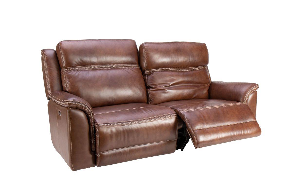 Fargo Leather Power Reclining Sofa At Gardner White In Nolan Leather Power Reclining Sofas (View 13 of 15)