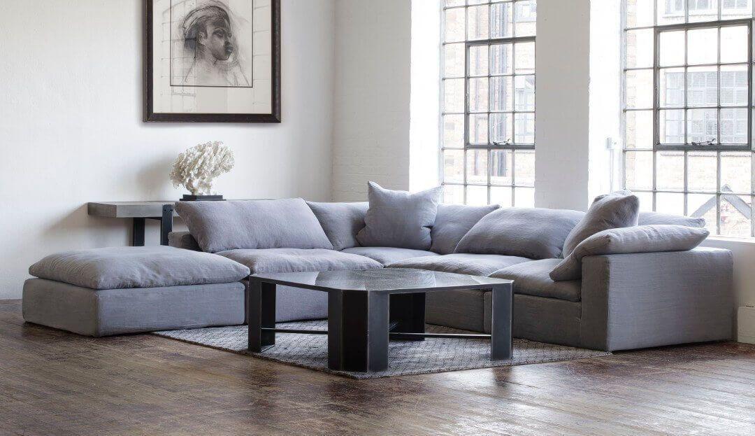 Feather Extra Deep Fabric Range | Large Sectional Sofa With Extra Large Sectional Sofas (View 13 of 15)
