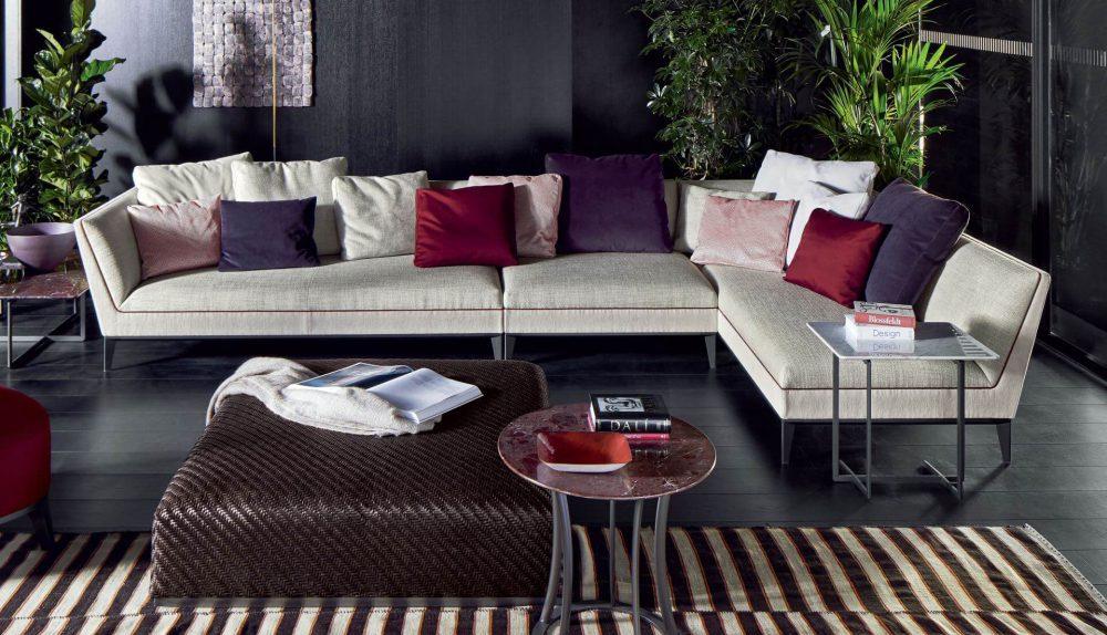 Flexform Mood Mr Wilde Modular Sofa – Dream Design With Regard To Dream Navy 3 Piece Modular Sofas (View 10 of 15)