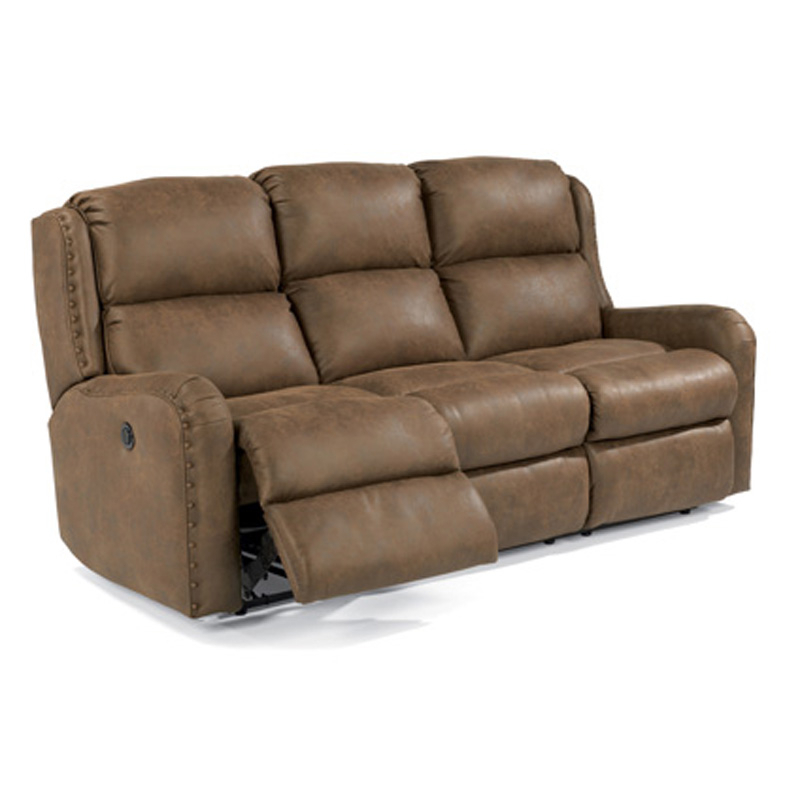 Flexsteel 4892 62M Cameron Fabric Power Reclining Sofa Intended For Charleston Power Reclining Sofas (View 7 of 15)