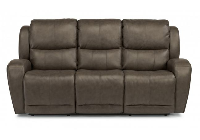 Flexsteel Latitudes Chaz Leather Power Reclining Sofa 1839 Intended For Titan Leather Power Reclining Sofas (View 9 of 15)