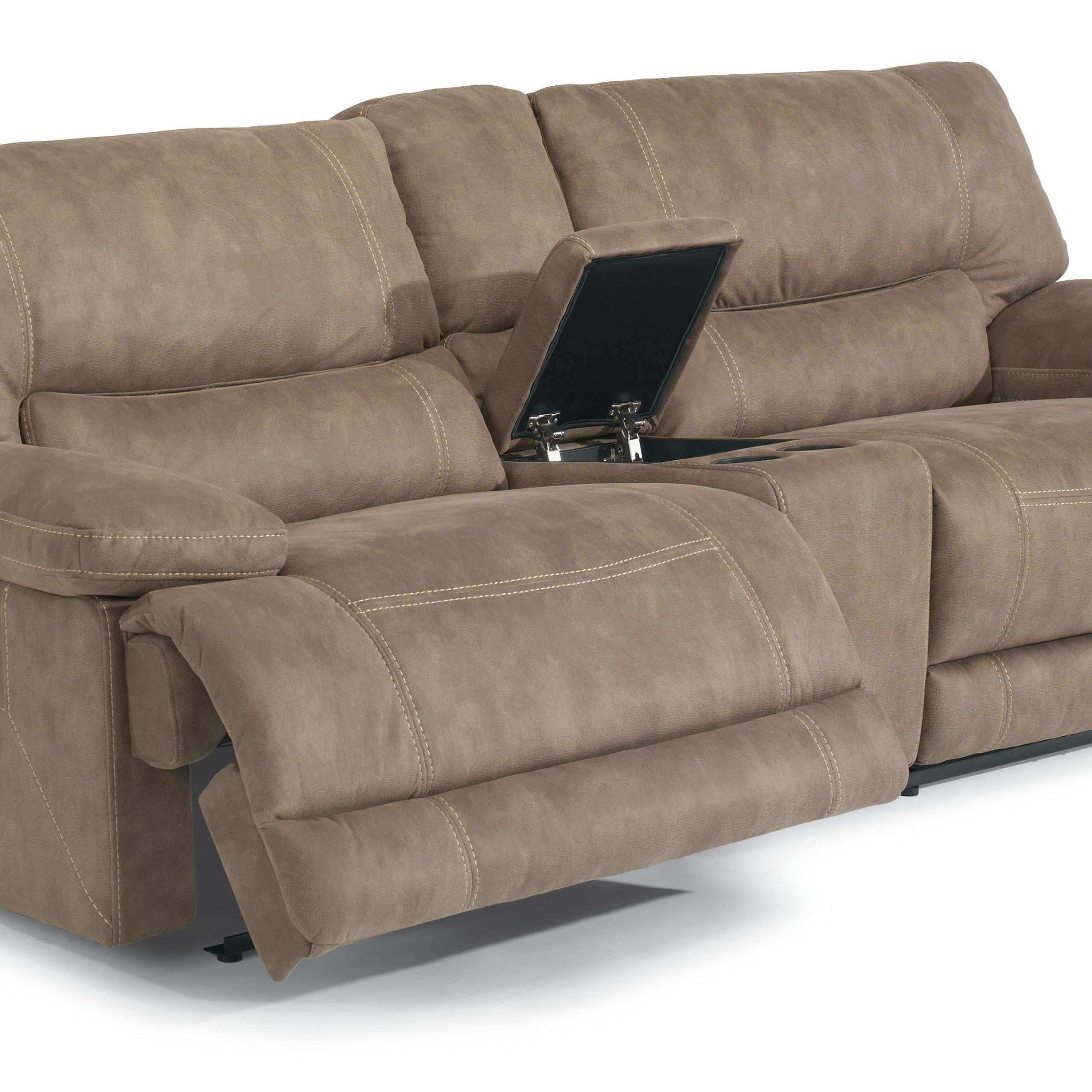 Flexsteel Latitudes – Delia Power Reclining Sectional Sofa For Power Reclining Sofas (View 8 of 15)