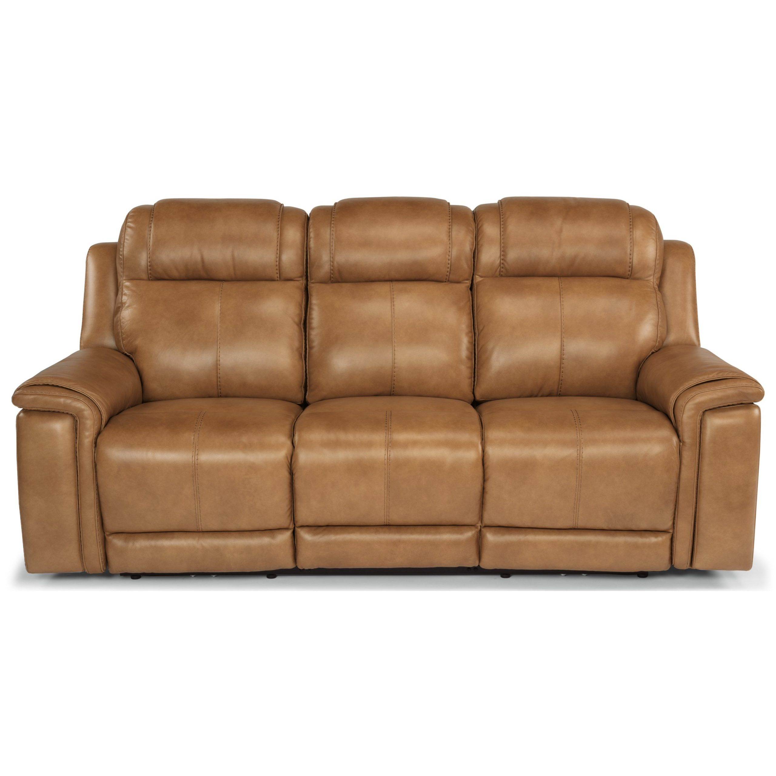 Flexsteel Latitudes – Kingsley Casual Lay Flat Power Throughout Power Reclining Sofas (View 2 of 15)