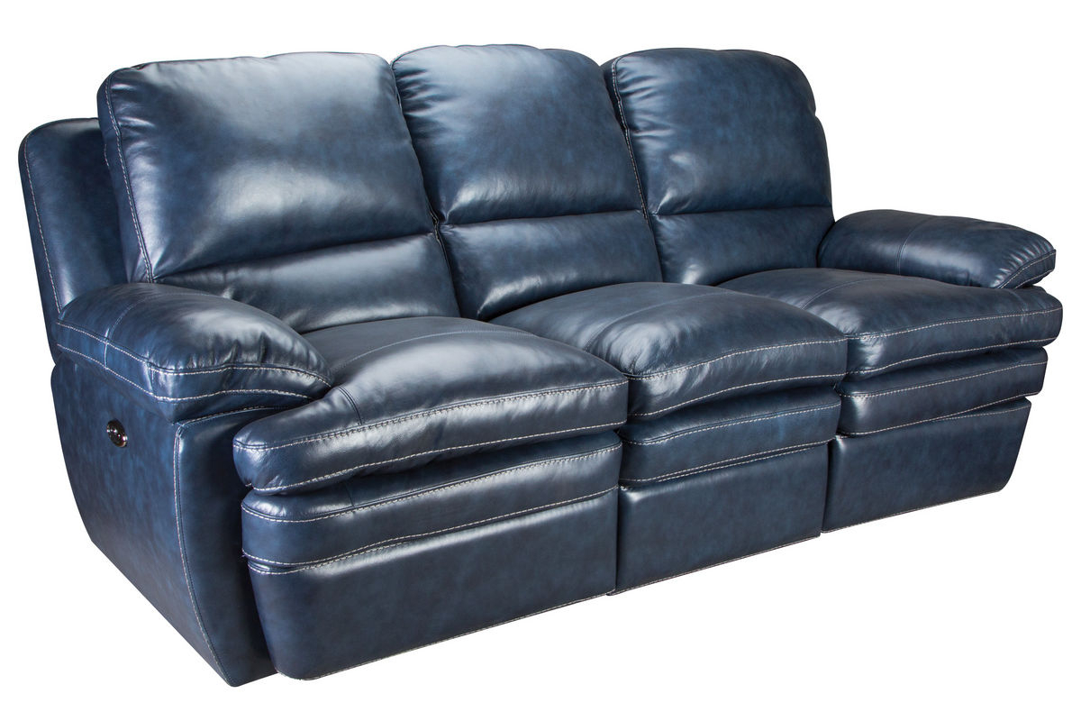Flexsteel Living Room Leather Power Reclining Sofa 135162P In Nolan Leather Power Reclining Sofas (View 11 of 15)