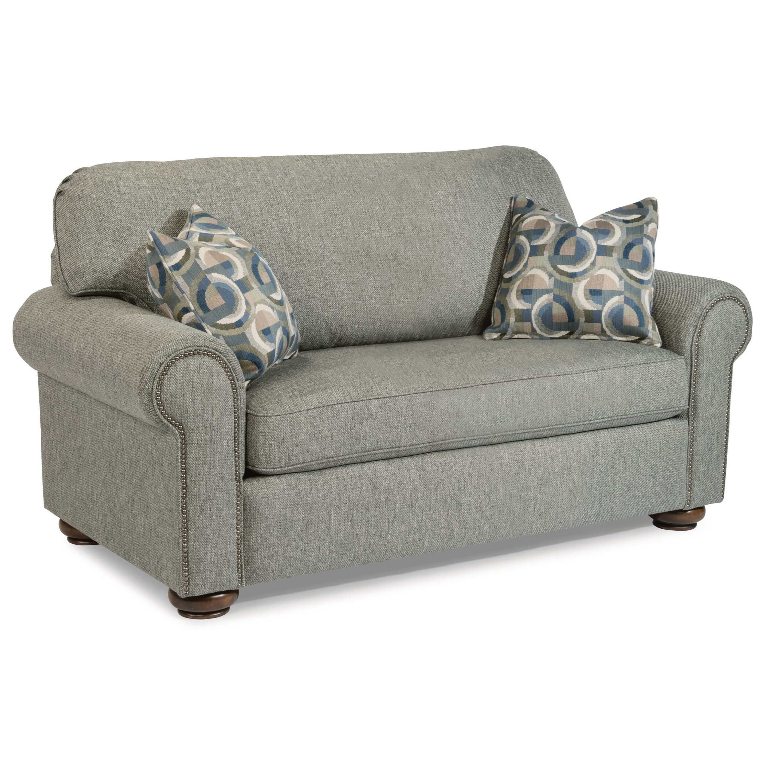 Flexsteel Preston Traditional Twin Sleeper Sofa With Throughout Twin Sofa Chairs (View 9 of 15)