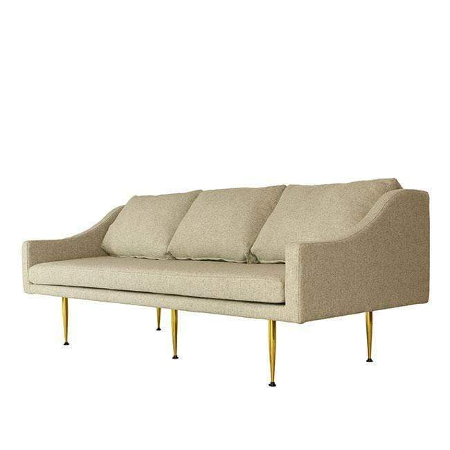 Florence 3 Seat Studio Sofa – Organic Modernism   New York Within Florence Medium Sofas (View 13 of 15)