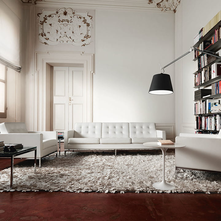 Florence 3 Sitzer Sofa Von Knoll | Connox For Florence Grand Sofas (View 6 of 15)
