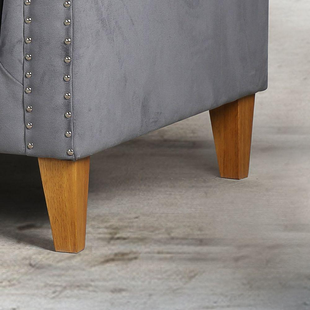 Florence Grey Medium Sofa For Florence Medium Sofas (View 9 of 15)