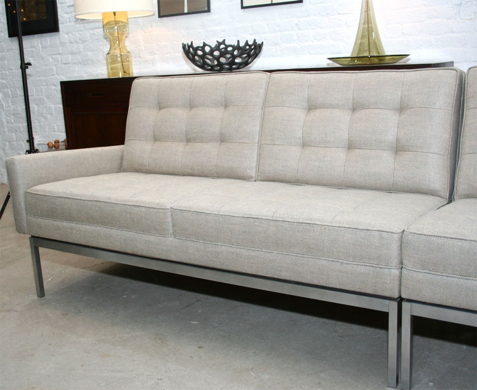 Florence Knoll 2 Piece Sectional Sofa In Holland And In Florence Knoll Fabric Sofas (View 9 of 15)