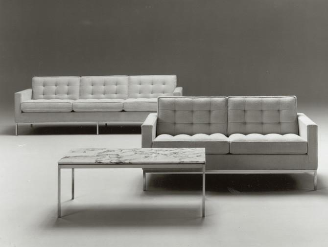Florence Knoll 2 Sitzer — Bauhausberlin Within Florence Grand Sofas (View 12 of 15)