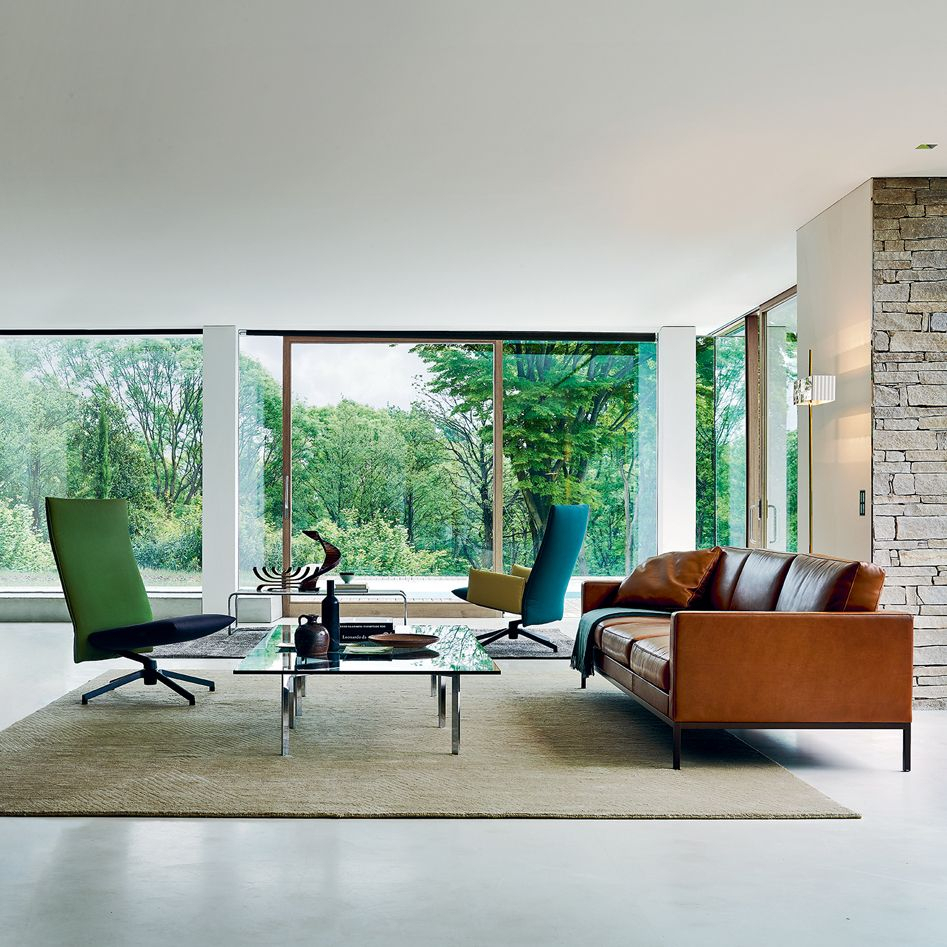 Florence Knoll Collection   Luxury Modern Furniture In Florence Sofas And Loveseats (View 13 of 15)