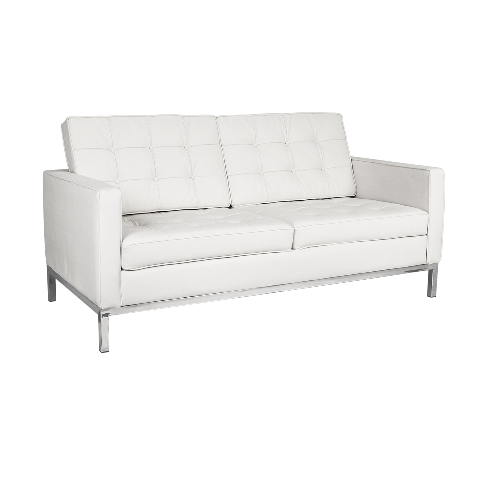 Florence Knoll Loveseat Rentals   Event Furniture Rental Within Florence Sofas And Loveseats (View 7 of 15)