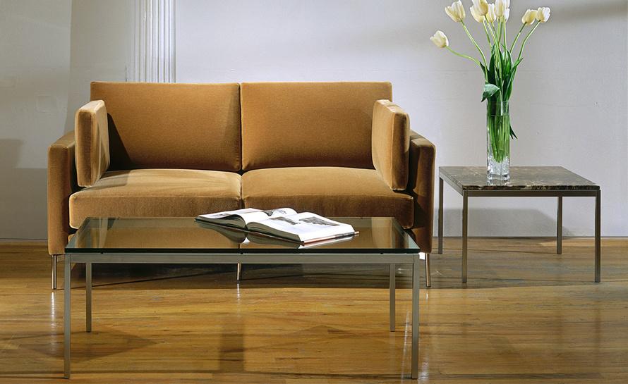 Florence Knoll Medium Side Table – Hivemodern Regarding Florence Medium Sofas (View 8 of 15)