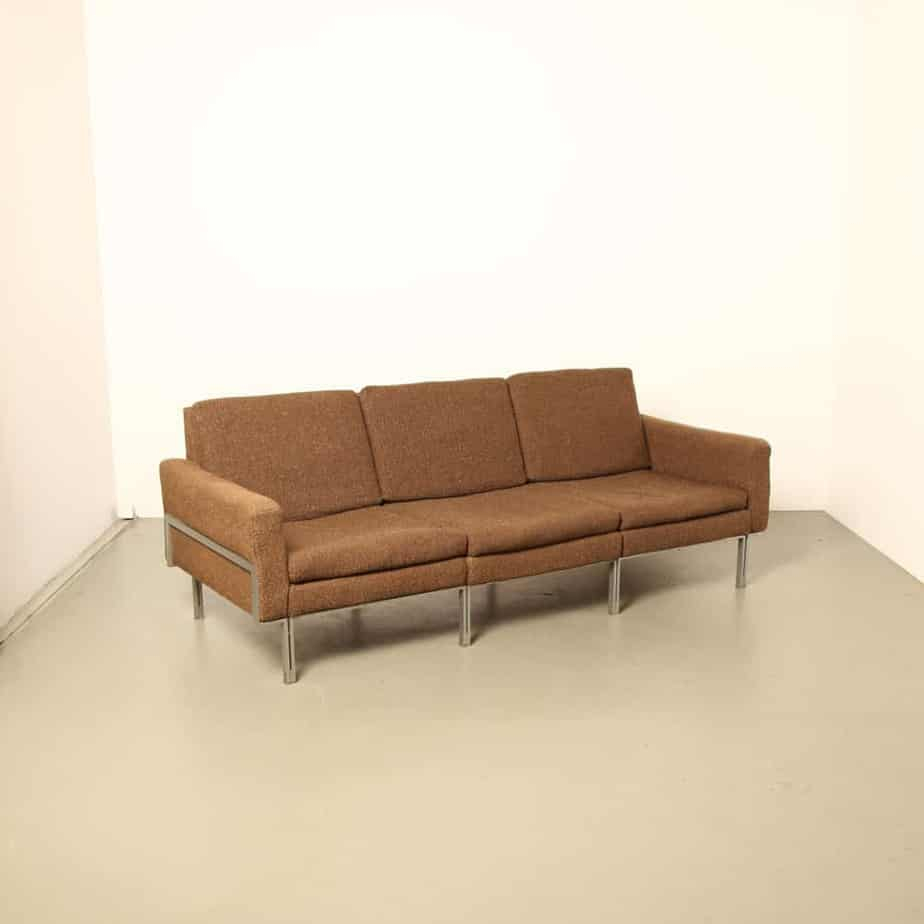 Florence Knoll Parallel Bar Sofa ⋆ Neef Louis Design Amsterdam Intended For Florence Knoll Style Sofas (View 3 of 15)