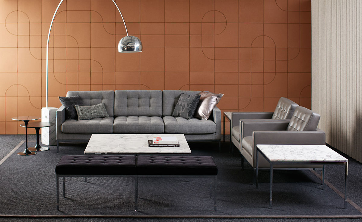 Florence Knoll Relaxed Sofa – Hivemodern With Florence Knoll Style Sofas (View 15 of 15)