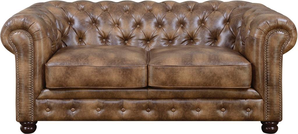 Florence Leather Sofa  Tan – Savvy Furniture Regarding Florence Leather Sofas (View 15 of 15)