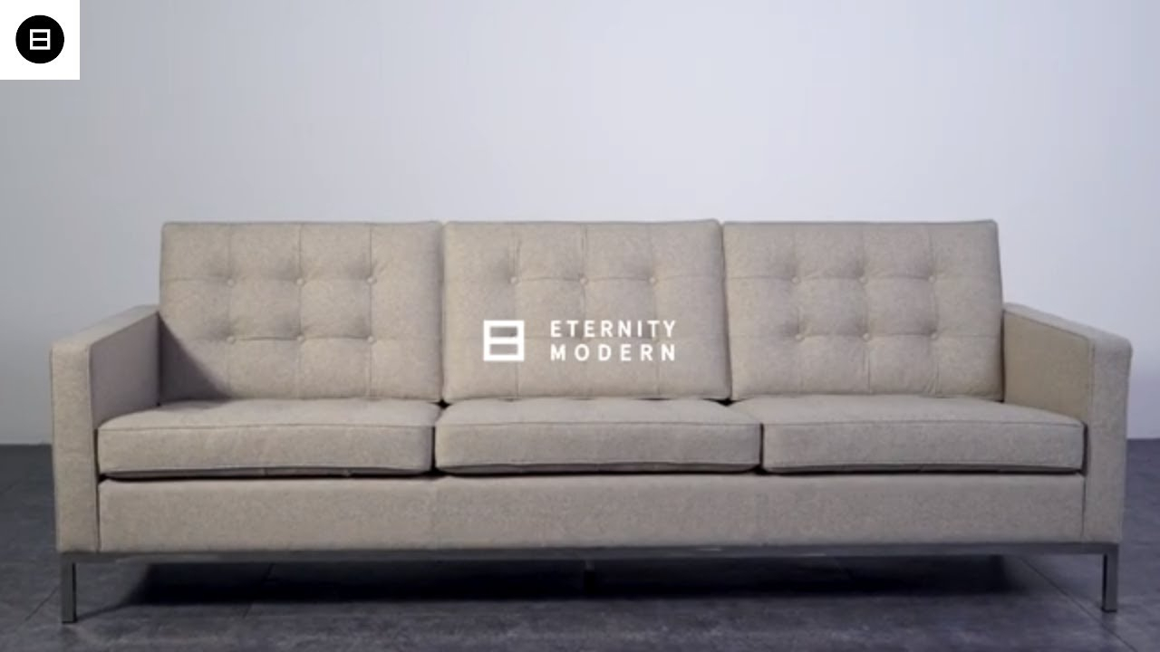 Florence Sofa | Mid Century Modern Furniture – Youtube With Regard To Florence Mid Century Modern Right Sectional Sofas (View 9 of 15)