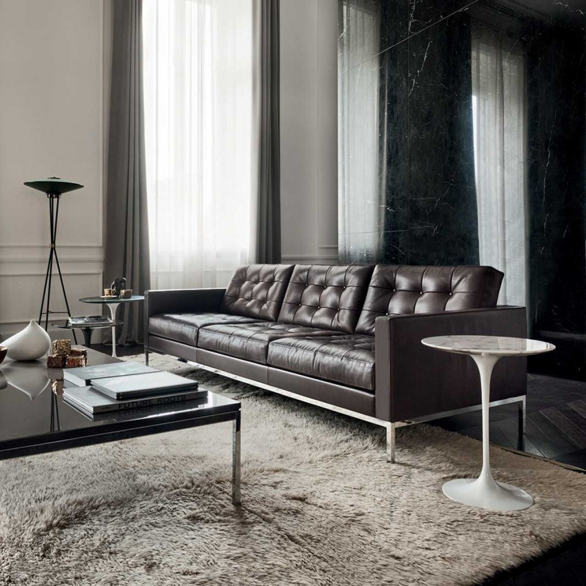 Florence Three Seater Sofa – Relax Version In Florence Leather Sofas (View 14 of 15)