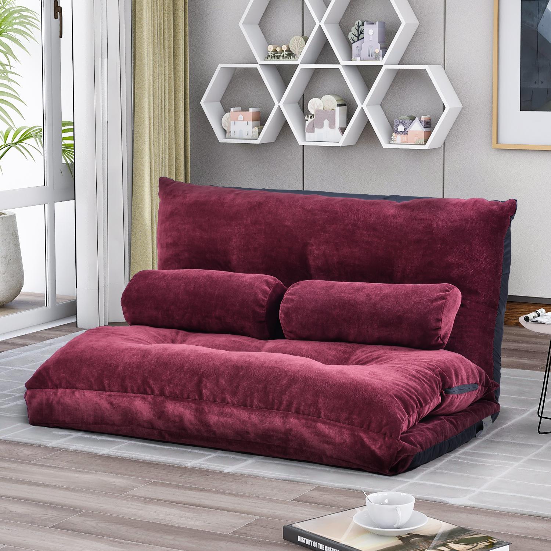 Folding Lazy Sofa, Floor Chair, Floor Sofa Bed, Backrest Regarding Sofa Lounge Chairs (View 13 of 15)