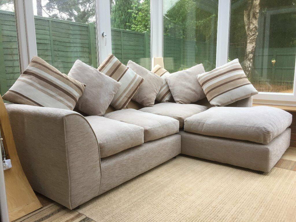 Four Seater Corner Sofa For Sale | In Verwood, Dorset Within 4 Seater Sofas (View 1 of 15)
