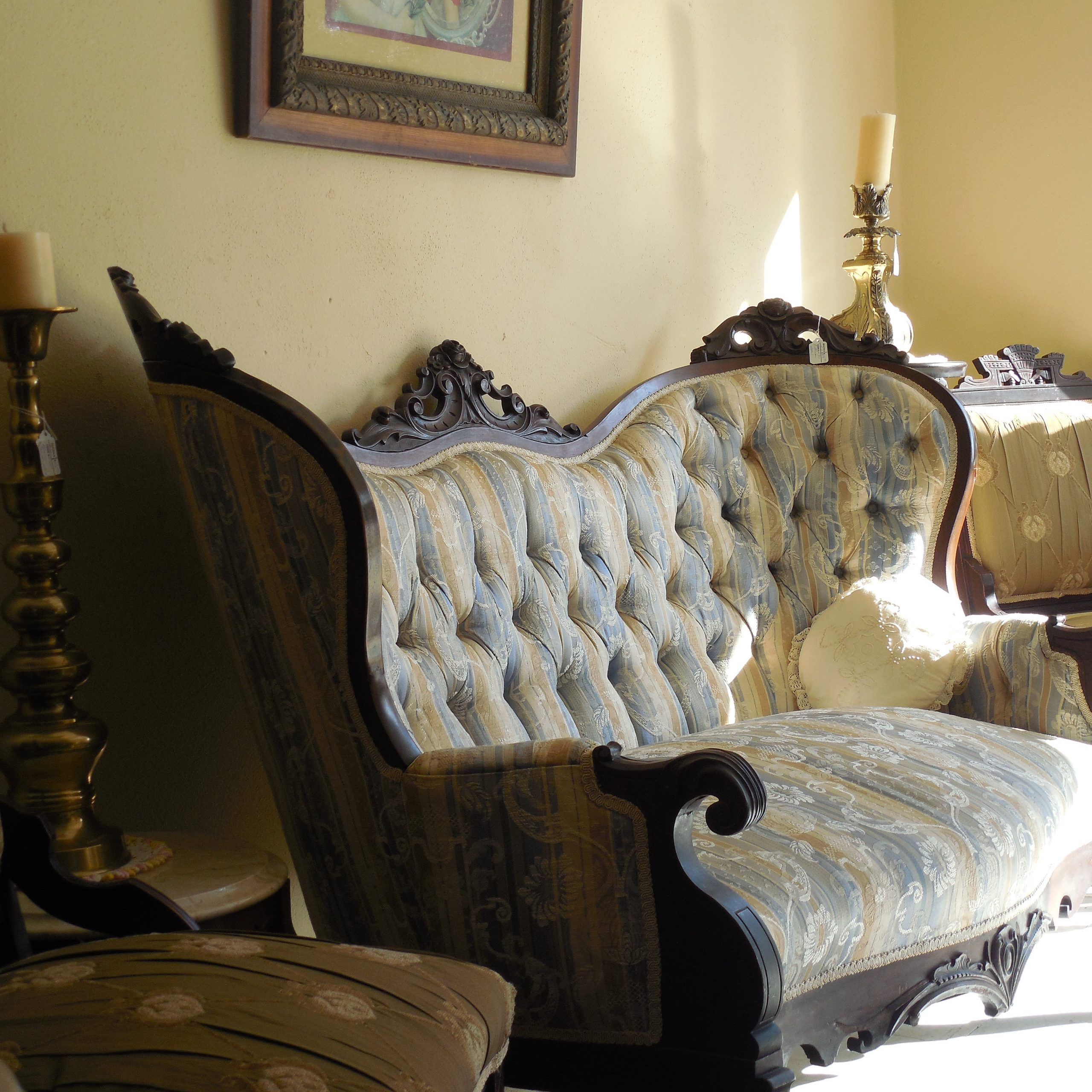Free Images : Wood, White, Vintage, Antique, Retro, House Inside Retro Sofas And Chairs (View 14 of 15)