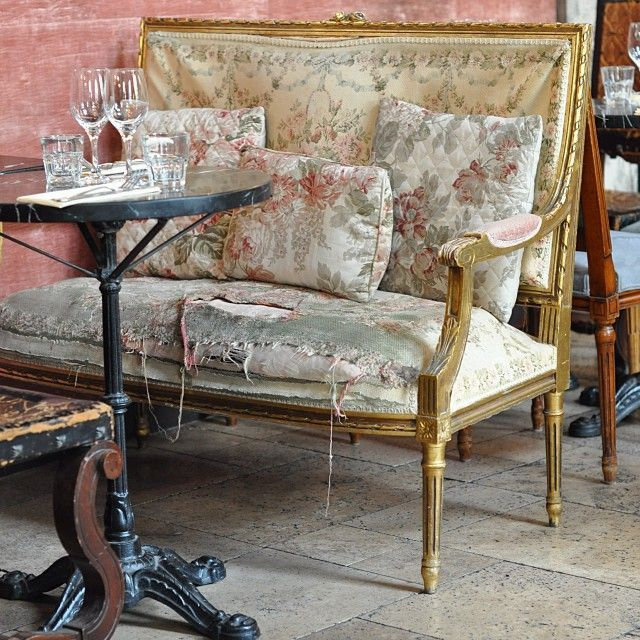 French Country Chic Sofa Chair | Shabby Chic Chairs, Chic Inside Country Cottage Sofas And Chairs (View 3 of 15)