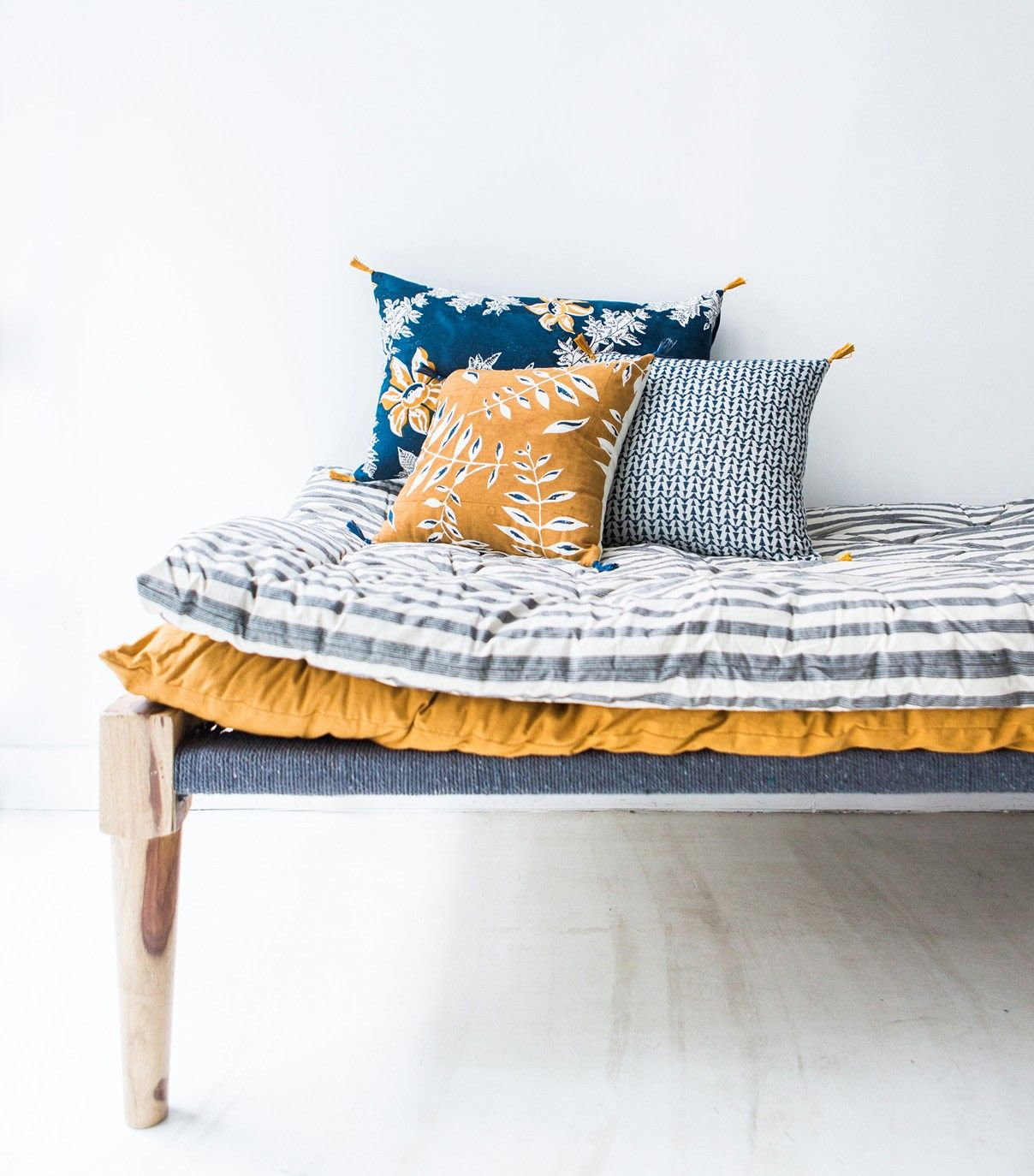 French Vintage Home Goods Shop – Super Marché | Home Goods Throughout French Seamed Sectional Sofas Oblong Mustard (View 5 of 15)