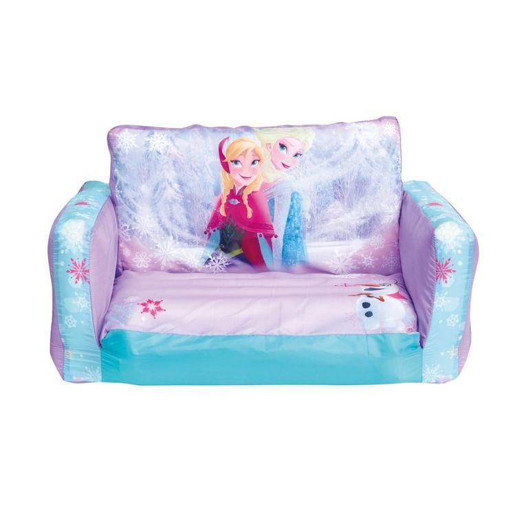Frozen Kids Blow Up Sofa Flipout Disney Chair   Inflatable Regarding Disney Sofa Chairs (View 5 of 15)