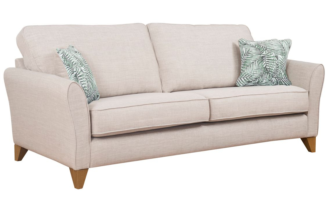 Furnham 4 Seater Sofa, A Choice Of Over 40 Fabrics To With 4 Seater Sofas (View 12 of 15)